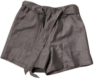 Bonpoint Grey Wool Shorts for Women