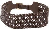 Tory Burch Woven Waist Belt