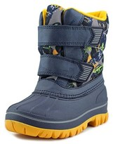 Cougar Buster Toddler Round Toe Canvas Blue Snow Boot.