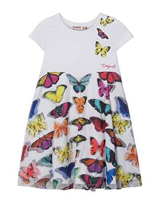 Desigual Girl Knit Dress Sleeveless (Vest_yamena),164 (Manufacturer Size: )