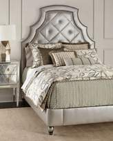 Old Hickory Tannery Bambi Quilted-Leather Queen Bed