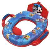 Disney Ginsey Mickey Mouse Deluxe Soft Potty Trainer with Sound in Blue/Red