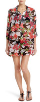Tommy Bahama Victoria Blooms Cover-Up Tunic