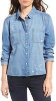 BP Splatter Chambray Shirt