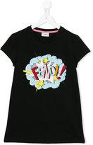 Fendi logo explosion print T-shirt