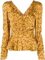 Jonathan Simkhai floral print blouse