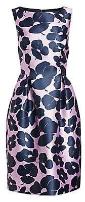 Lela Rose Women's Betsy Full Skirt Floral Dress