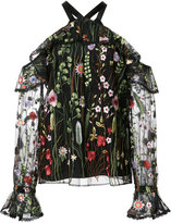 Alexis Kylie blouse - women - Nylon/Polyester - L