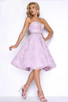 Mac Duggal Prom - 80596 Bustier Dress In Lilac
