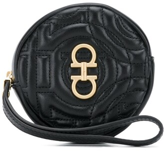 Salvatore Ferragamo Zipped Leather Coin Purse