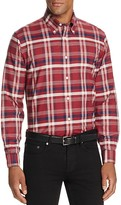 Brooks Brothers Oxford Plaid Slim Fit Button Down Shirt
