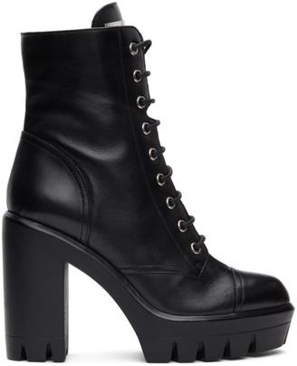 Giuseppe Zanotti Black Nevada Heeled Boots