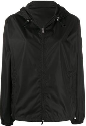 Moncler Short Zipped Hooded Jacket