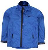 Slazenger Kids Waterproof Golf Jacket Junior Boys Lightweight Funnel Neck