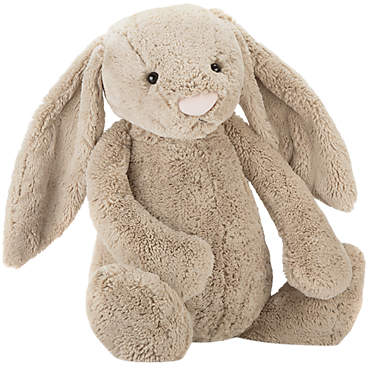 Jellycat Bashful Bunny Soft Toy, Really Big, Beige