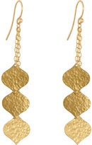 Gurhan Clove 24k Triple-Strand Flake Earrings