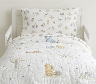 Pottery Barn Kids Disney Winnie the Pooh Toddler Quilt