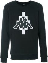 Marcelo Burlon County of Milan Kappa Cotton Crewneck Sweater