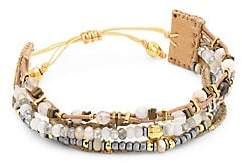 Chan Luu Grey Botswana Agate Bracelet