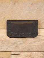 Free People Vintage Etched Leather Duo Fold Wallet