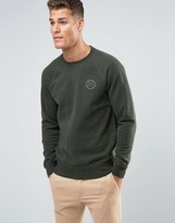 Jack Wills Sweatshirt With Logo In Pine