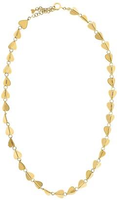 Cadar 18kt yellow gold medium Wings Of Love necklace