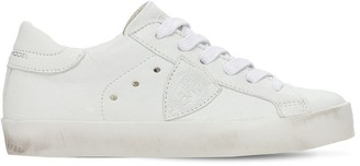 Philippe Model Paris Leather Lace-Up Sneakers