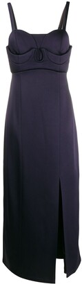 Jil Sander Sweetheart Midi Dress