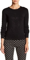 Nicole Miller Puckered Knit Blouse
