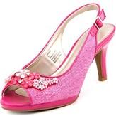 Karen Scott Branca Women Peep-toe Synthetic Slingback Heel.