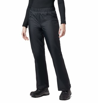 Columbia Womens Storm Surge Waterproof Rain Pants Mesh Lined