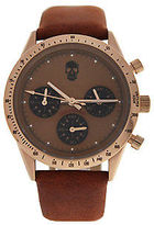 Zadig & Voltaire ZVM118 Master - Rose Gold/Brown Leather Strap Watch 1 Pc