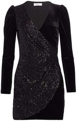 Bailey 44 Shelby Velvet & Sequin Dress