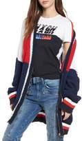 Tommy Jeans x Gigi Hadid Colorblock Cardigan