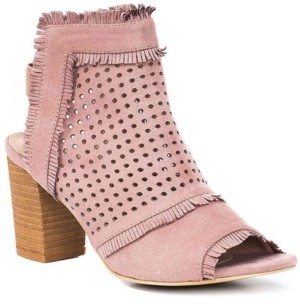 GC Shoes Kyra Laser Cut Slip On Shooties Women's Shoes