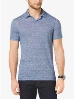 Michael Kors Linen and Cotton Polo Shirt