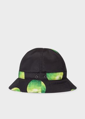Paul Smith Men's 'Green Apple' Print Bucket Hat