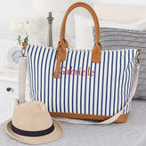 Cathy's Concepts CATHYS CONCEPTS Personalized Striped Weekender Tote Bag