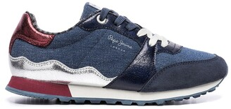Pepe Jeans Verona Fray Trainers