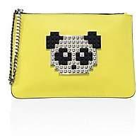Les Petits Joueurs Women's Envelope Small Panda Leather Clutch