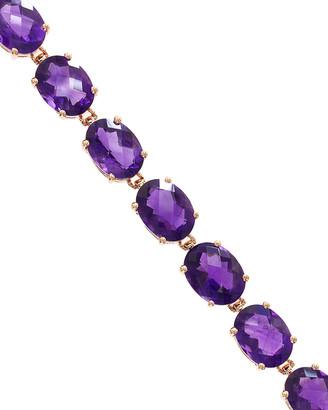 Effy Fine Jewelry 14K Rose Gold 22.50 Ct. Tw. Amethyst Bracelet