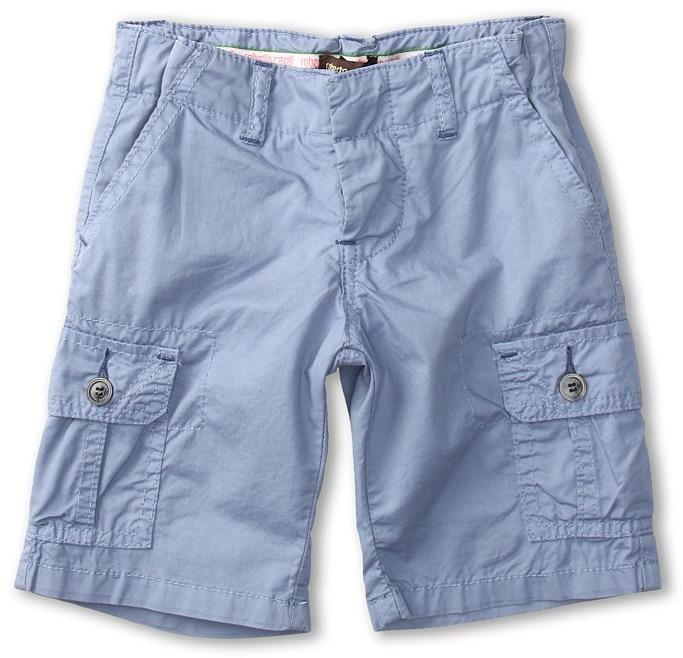 Roberto Cavalli Y86099 Y2640 Cargo Shorts (Toddler/Little Kids) (Light Blue) - Apparel