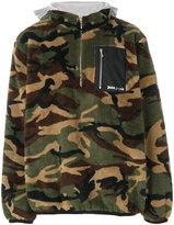 Palm Angels camouflage zip jumper