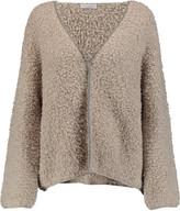 Brunello Cucinelli Bead-embellished cashmere-blend bouclé cardigan