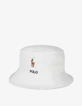 Polo Ralph Lauren Loft logo-embroidered cotton bucket hat