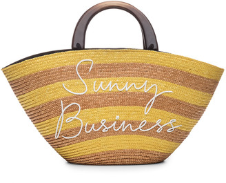 Eugenia Kim Striped 'Sunny Business' Tote Bag