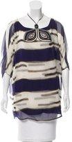 3.1 Phillip Lim Silk Embellished Tunic