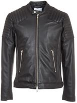 Dondup Quilted Biker Jacket