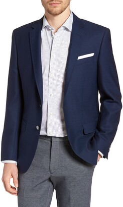 HUGO BOSS Hutsons Slim Fit Wool Blazer
