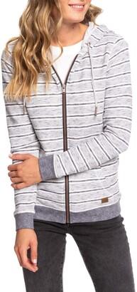 Roxy Trippin Stripes Zip Hoodie